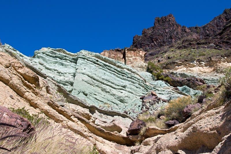 Fuente de Лос Azulejos стоковое изображение rf