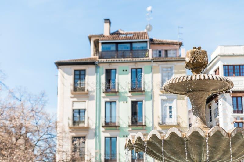 Fuente de Granada imagenes de archivo