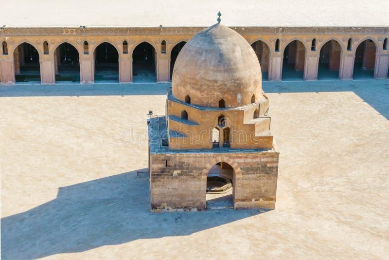 Fuente de la ablución, mezquita de Ibn Tulun, Egipto fotos de archivo