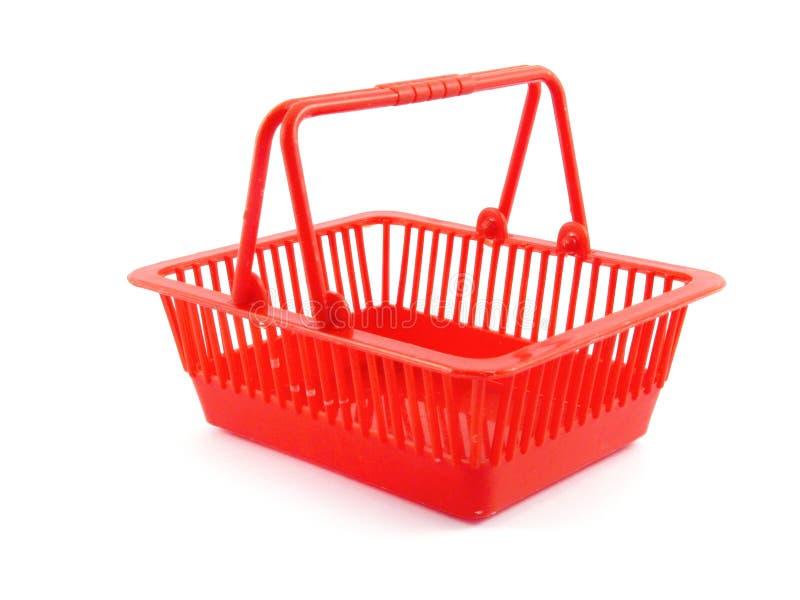 Fuente de la disposición de la cesta del consumidor imagenes de archivo