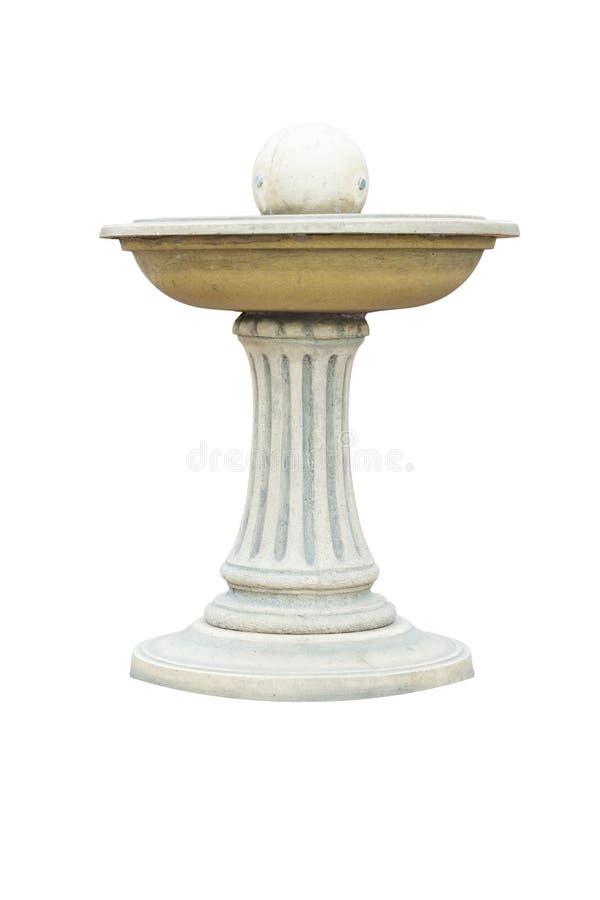 Fuente de mármol imagen de archivo