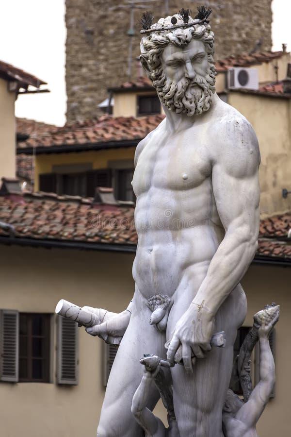 Fuente de Neptuno foto de archivo