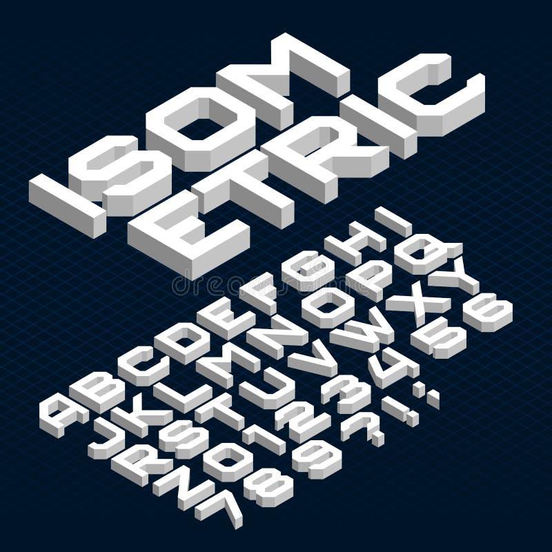 Fuente de vector retra del alfabeto de la raya Tipo enrrollado letras, números y símbolos en estilo de los años 70 ilustración del vector