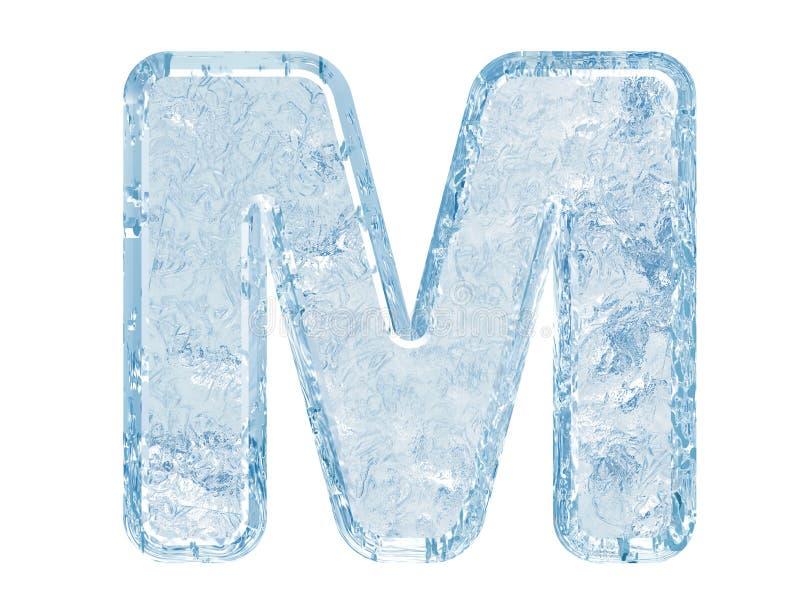 Fuente del hielo stock de ilustración
