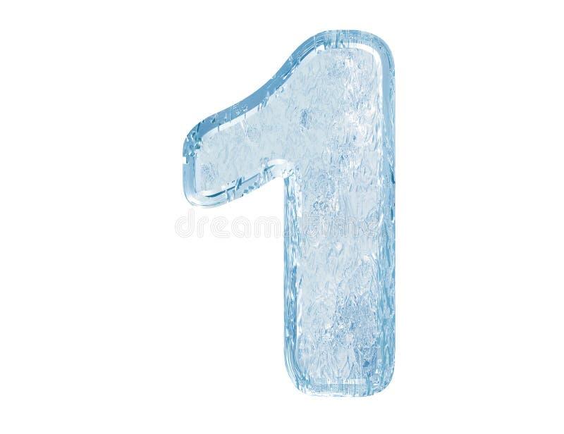Fuente del hielo. Número uno. Con el camino de recortes. libre illustration