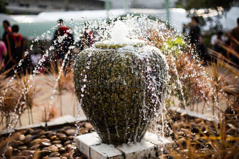 Fuente del hogar y del jardín foto de archivo libre de regalías