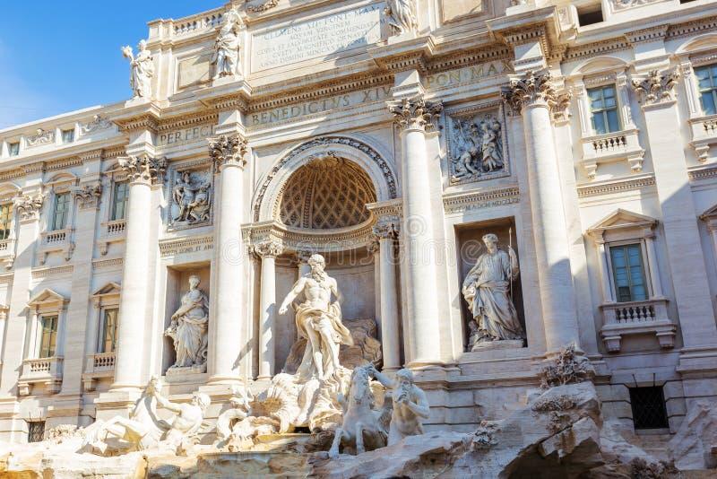 Fuente del Trevi en Roma Italia imágenes de archivo libres de regalías