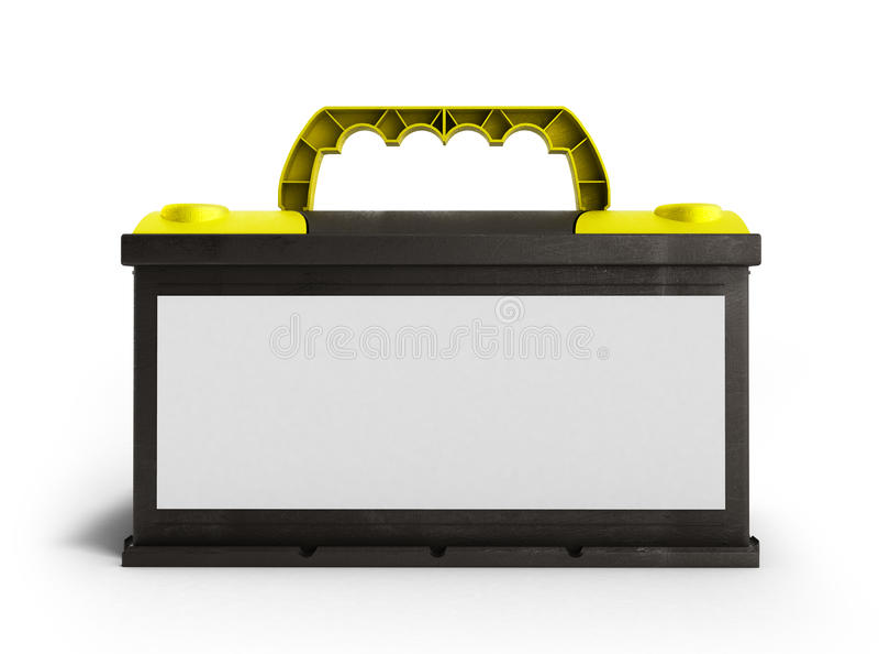 Fuente eléctrica p de las piezas de automóvil del coche del acumulador de baterías de la batería libre illustration
