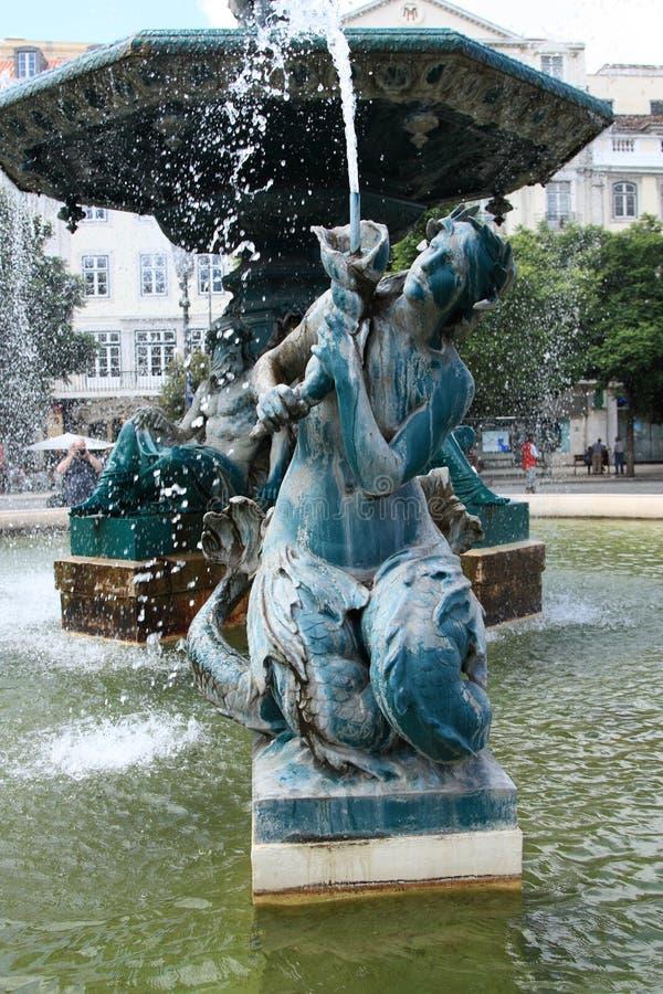 Fuente en Portugal imagen de archivo