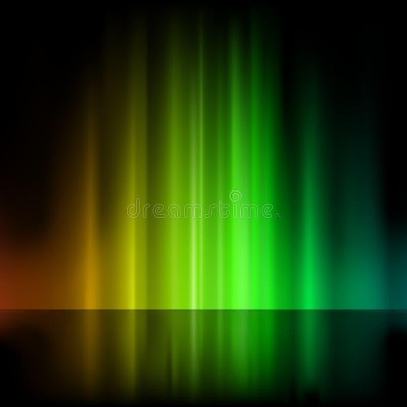 Fuente ligera ilustración del vector