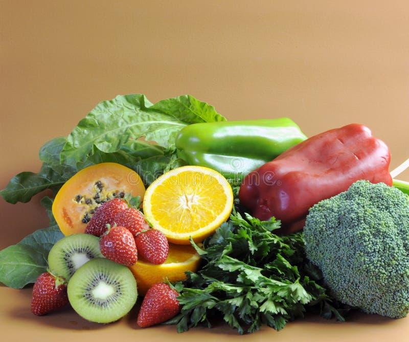Fuentes de vitamina C para la dieta sana de la aptitud fotos de archivo libres de regalías