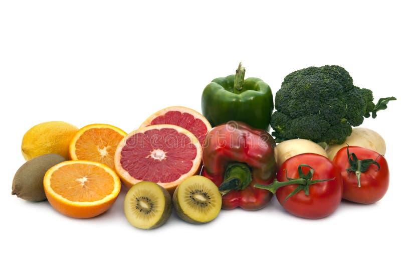 Fuentes del alimento de la vitamina C imagen de archivo libre de regalías