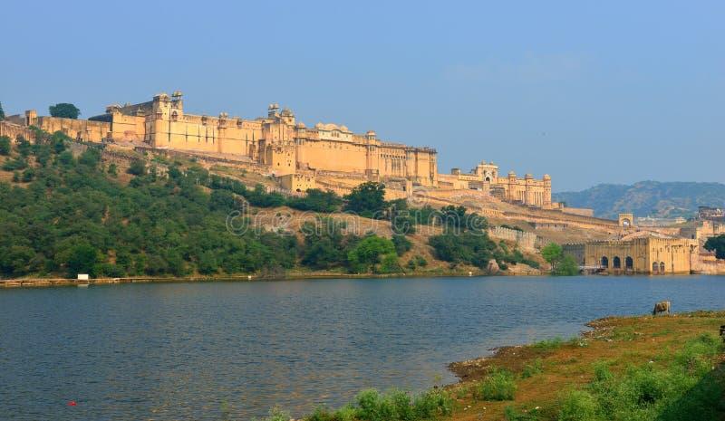 Fuerte ambarino, Jaipur imágenes de archivo libres de regalías