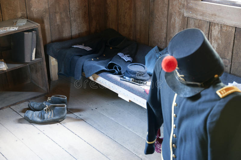 Fuerte Crook Museum fotos de archivo