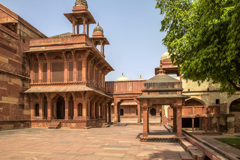 Download Fuerte de Fatehpur Sikri foto de archivo. Imagen de columna - 42439824