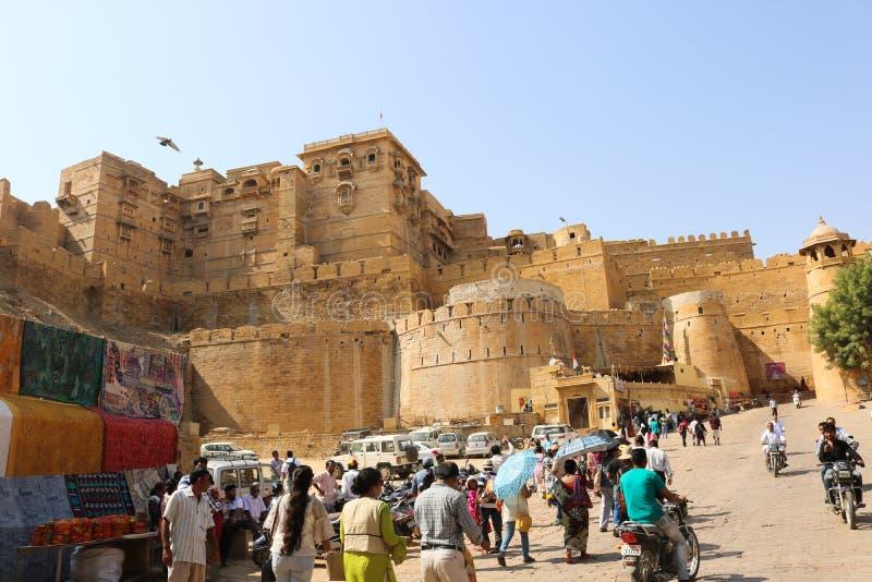 Fuerte de Jaisalmer, Rajasth?n, la India foto de archivo libre de regalías