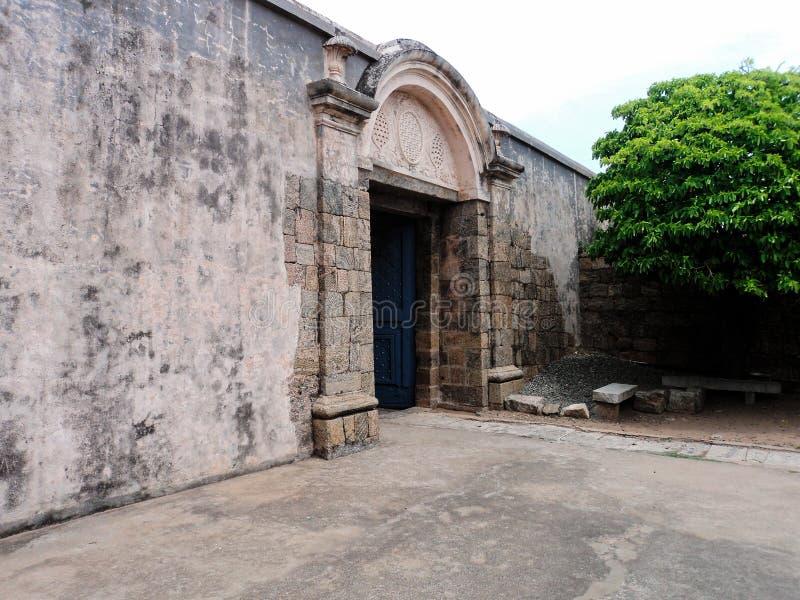 Fuerte de la roca de Dindigul foto de archivo libre de regalías