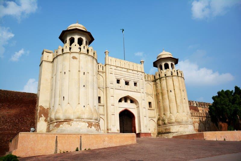 Fuerte de Lahore de la puerta de Masti foto de archivo