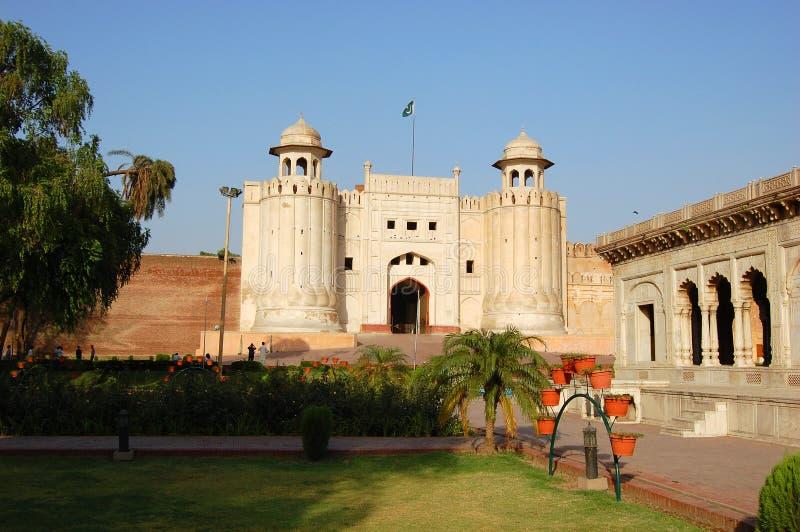 Fuerte de Lahore, Lahore, Paquistán fotos de archivo