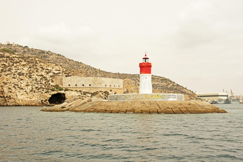 Fuerte de Navidad (Christmas Fort), Cartagena royalty free stock images