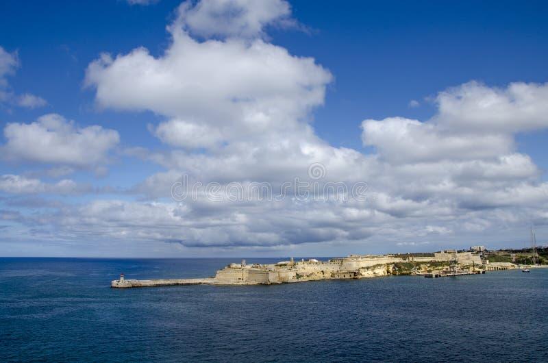 Fuerte de Ricasoli en Malta fotos de archivo libres de regalías