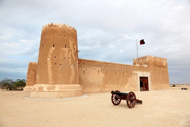 Fuerte de Zubarah en Qatar imagen de archivo libre de regalías