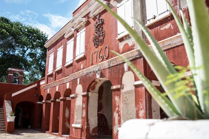 Fuerte Federico - St Croix fotos de archivo