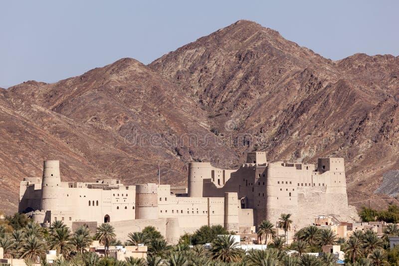 Fuerte histórico de Bahla en Omán foto de archivo libre de regalías