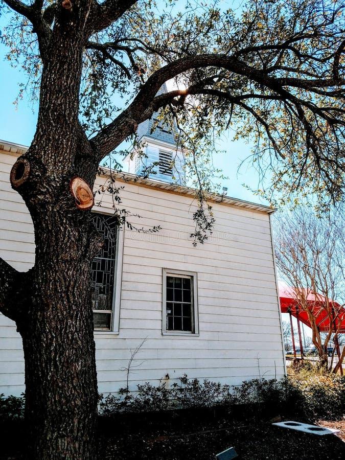 Fuerte Hood Chapel foto de archivo
