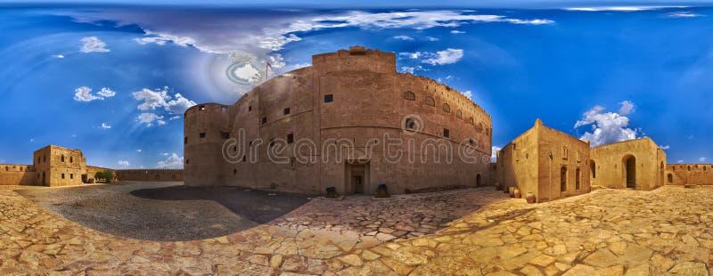 Fuerte interior de Jabreen imagen de archivo