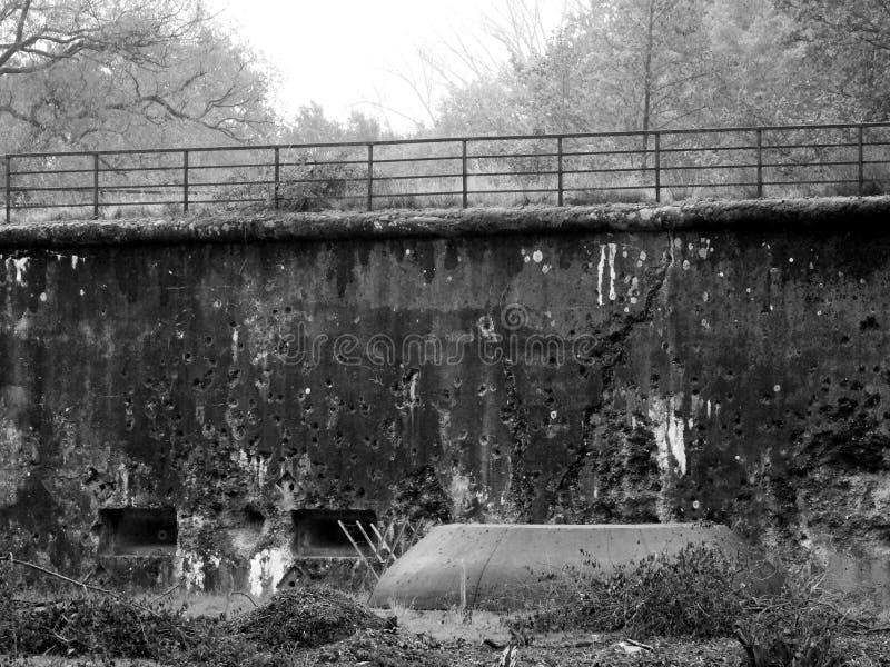 Fuerte Liezele - Puurs - Bélgica imagen de archivo libre de regalías