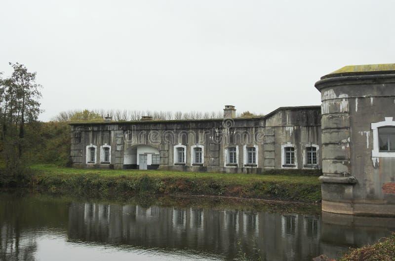 Fuerte Liezele - Puurs - Bélgica imagen de archivo