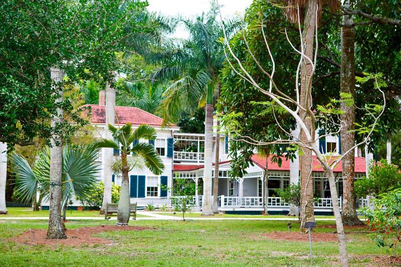FUERTE MYERS, LA FLORIDA 15 DE ABRIL DE 2016: Fuerte Myers Florida, Thomas Edison foto de archivo