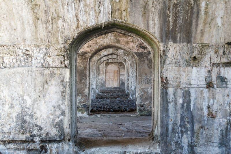 Fuerte San Juan de Ulua en la ciudad de Veracruz imagenes de archivo