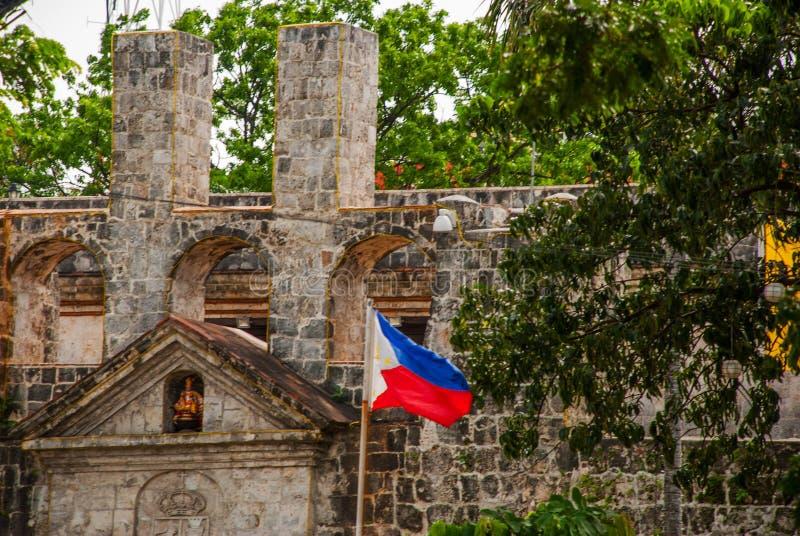 Fuerte San Pedro en Cebú, Filipinas foto de archivo