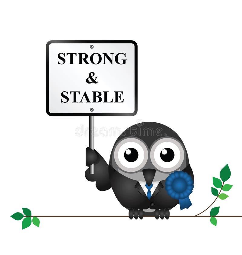 Fuerte y estable libre illustration