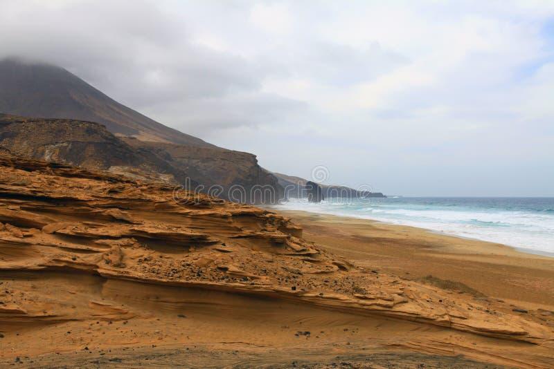 Fuerteventura. imagem de stock