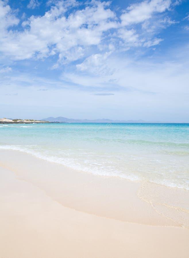 Download Fuerteventura, Beautiful Sandy Beach Royalty Free Stock Image - Image: 14001316