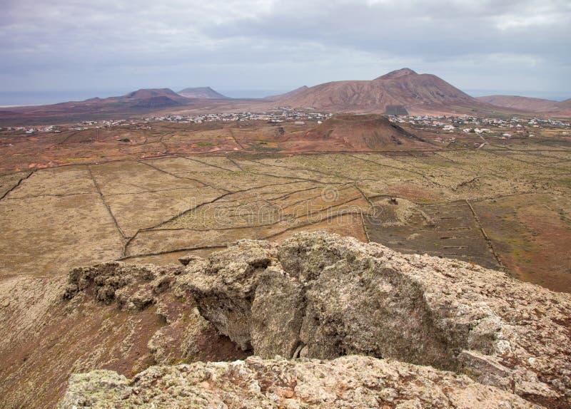 Fuerteventura do norte interno foto de stock royalty free