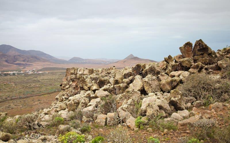 Fuerteventura du nord image stock