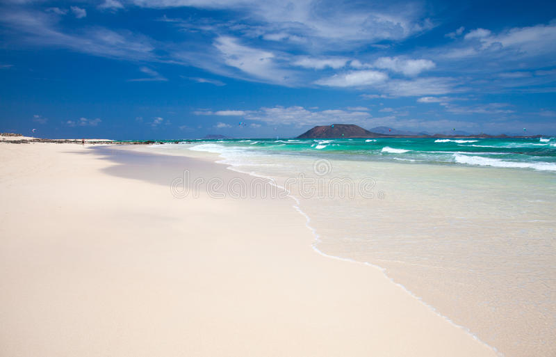 Fuerteventura du nord photo stock