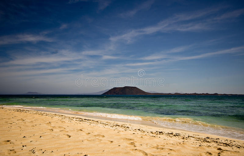 Fuerteventura du nord photographie stock