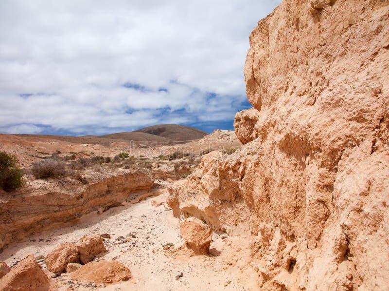 Fuerteventura du nord intérieur images libres de droits