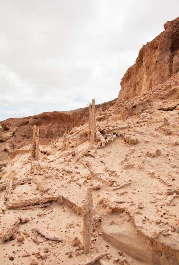Fuerteventura du nord intérieur images stock