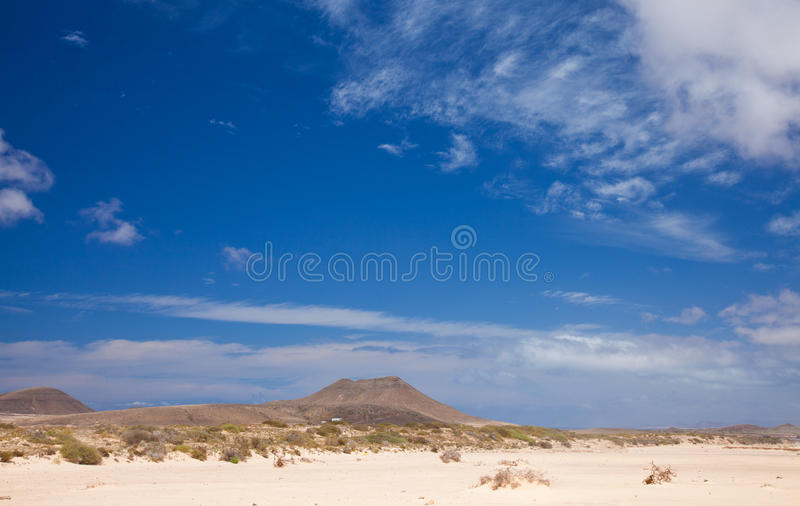 Fuerteventura du nord intérieur photos stock