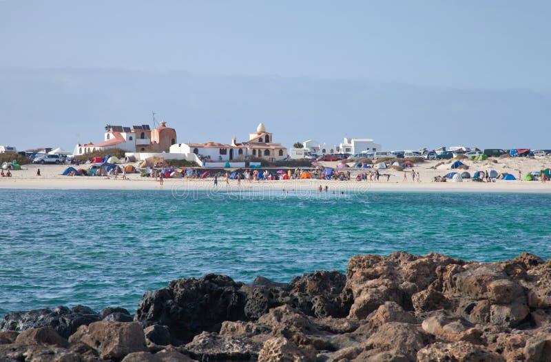 Download Fuerteventura, El Cotillo, editorial stock photo. Image of camping - 25641143
