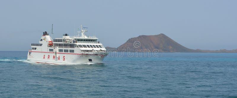 Fuerteventura Ferry royalty free stock photo