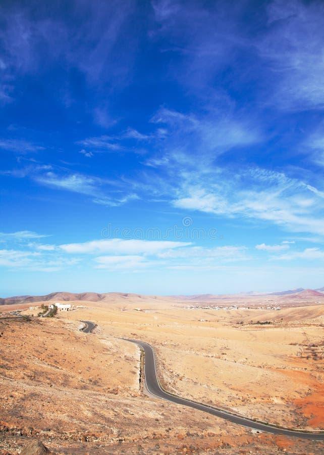 Fuerteventura intérieur, Îles Canaries photographie stock libre de droits