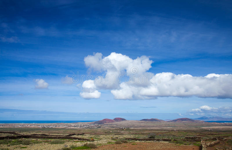 Fuerteventura intérieur images stock