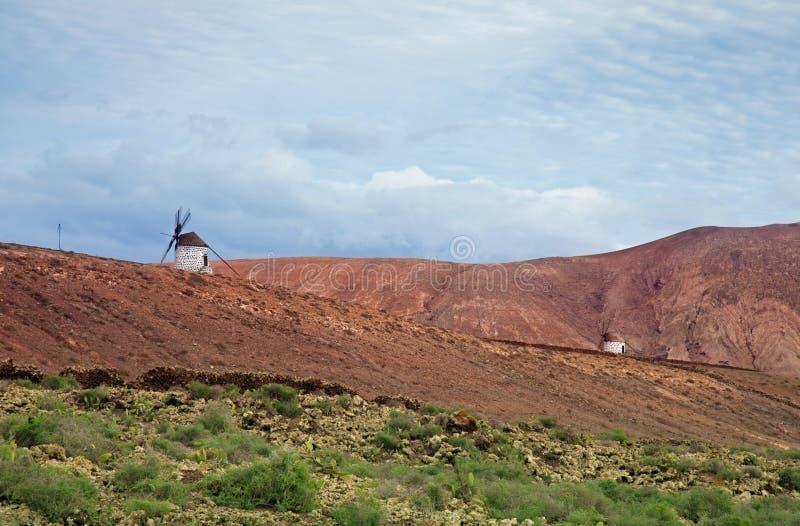 Fuerteventura intérieur images libres de droits